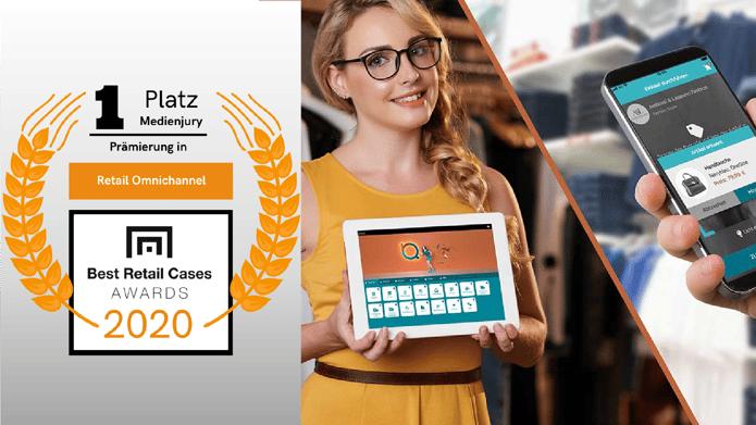Best Retail Cases Award Platzierung