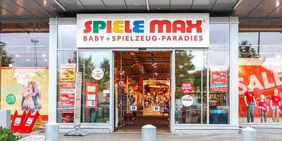 SPIELE MAX Filialie